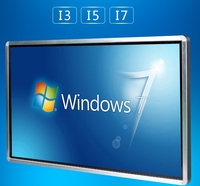 70 84 98 Inch TFT Led LCD Full HD Touch Interactive Panel Display Computer All In