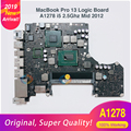 A1278 Logic Board Für MacBook Pro Laptop Motherboard A1278 13' MD101 4G i5 2,5 GHZ 820-3115-A Mid 2012 auf verkauf! Preis Chopper!