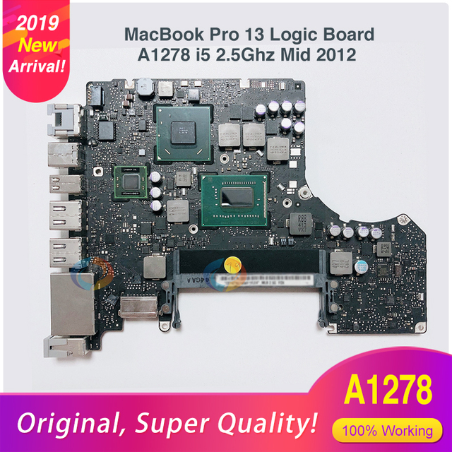 US $170 0 |A1278 Logic Board For MacBook Pro Laptop Motherboard A1278 13'  MD101 4G i5 2 5GHZ 820 3115 A Mid 2012 on Sale! Price Chopper! -in Laptop