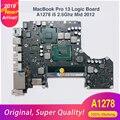 A1278 Logic Board Voor MacBook Pro Laptop Moederbord A1278 13' MD101 4G i5 2.5 GHZ 820-3115-A Mid 2012 op koop! Prijs Chopper!