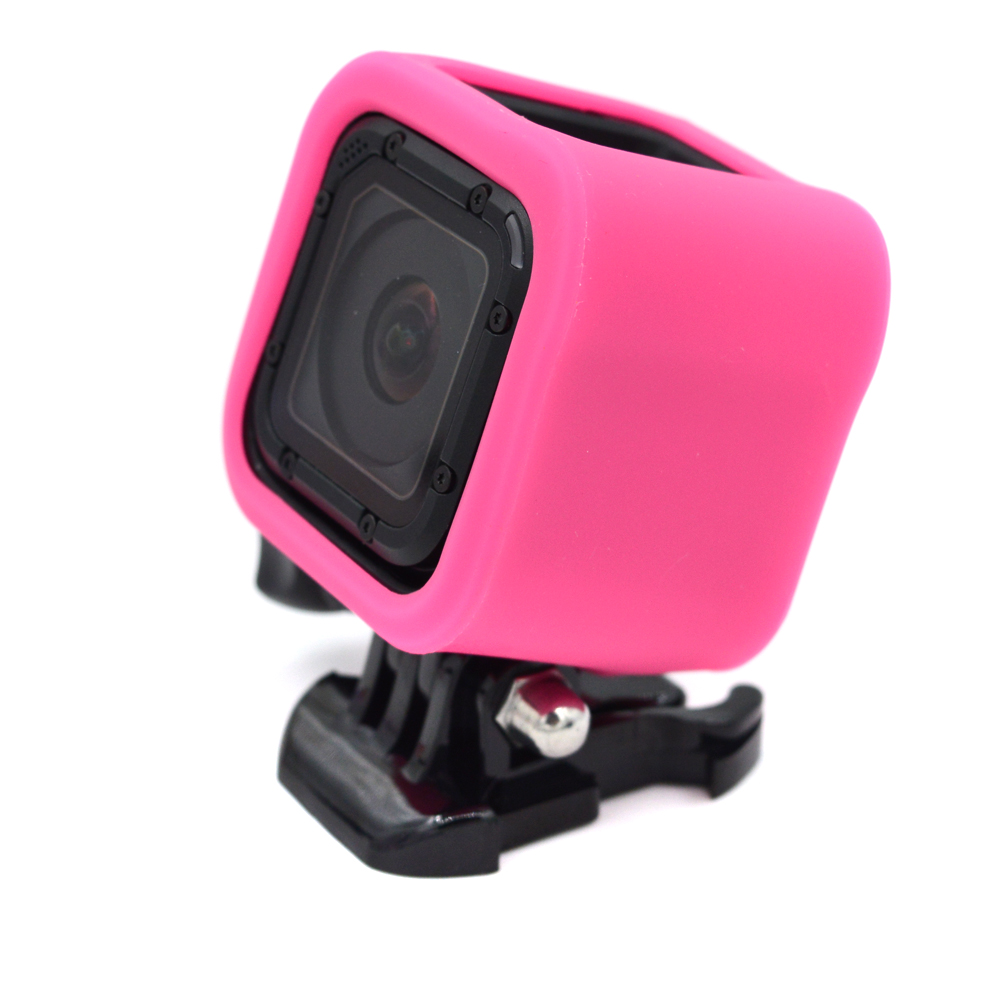 Hero4 action camera silicone housing dustproof protection case fit ...
