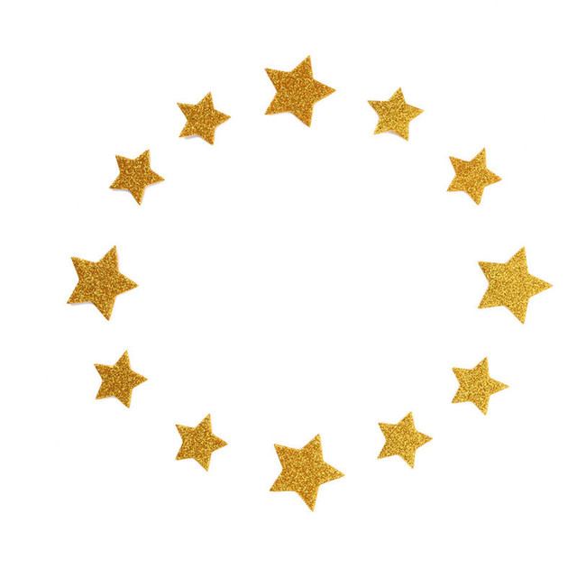12 Pcs Star Cake Toppers