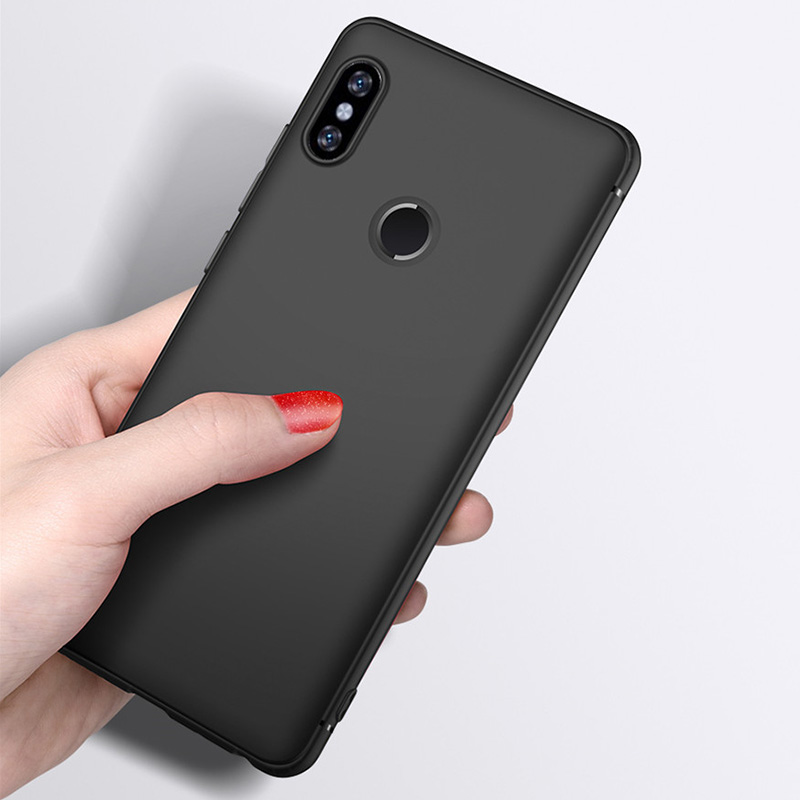 Case For Xiaomi Redmi Note 7 Pro Case Cover 4 4X 4A S2 <font><b>5</b></font> Plus Soft TPU Matte Case Cover For Redmi Note <font><b>5</b></font> 5A 6A <font><b>6</b></font> Mi 8 5X A1 A2 image