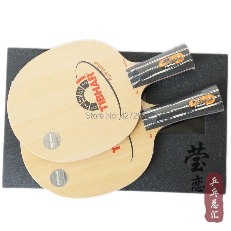 Original Tibhar Triple Carbon table tennis blade table tennis rackets font b racquet b font sports