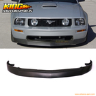 For 2005-2009 Ford Mustang V8 GT 4.6L IKON Style Front Bumper Lip Chin Spoiler