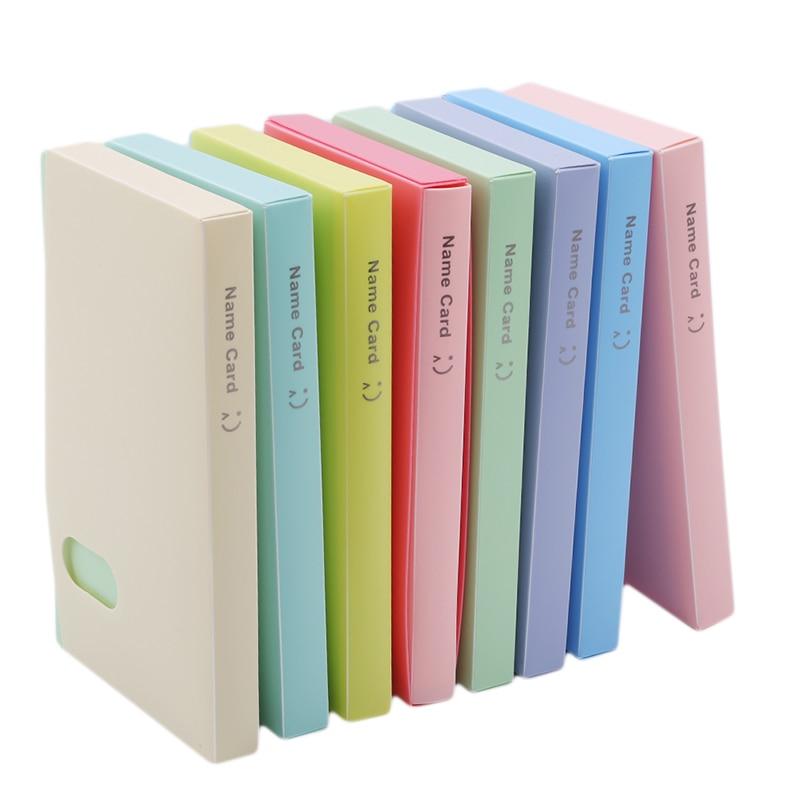 120 bolsos cor sólida diy adesivos para álbuns de fotos quadro decoração scrapbooking álbum de fotos cartão de identificação titular