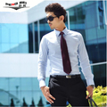Free Shipping 2015 Hot Mens Shirts,Men's dress Shirts,Men's Casual Slim Fit Stylish long-sleeved Shirts Plus Size S-XXXL