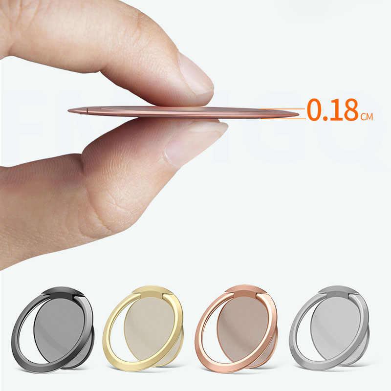 Cincin Mobil Soket Magnet Magnetic Cell Phone Mobile Holder Universal untuk Iphone Samsung Xiaomi Braket GPS Berdiri Dukungan
