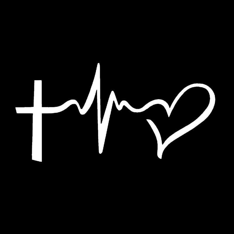 2017 Hot Sale Faith Hope Love Vinyl Decal Sticker Car Window Wall