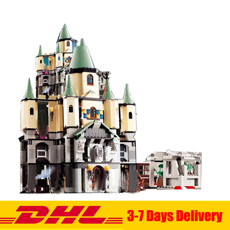 Lepin 16029 1033Pcs Movie Series The magic hogwort castle set Children Educational Building Blocks Bricks Toys Model Gift 5378 lepin 16017 castle series genuine the king s castle siege set children building blocks bricks educational toys model gifts