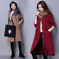 plus big size coats women spring autumn winter coats 2017 feminina new long trench coat cardigan female A2762