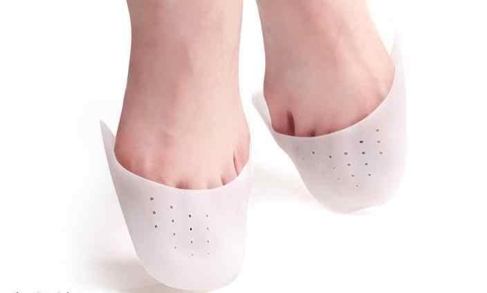 200คู่/ล็อตมืออาชีพบัลเล่ต์รองเท้าปวงนิ้วเท้าปกเท้าบรรเทาอาการปวดซิลิโคนเท้าป้องกันPadดูแลเท้า