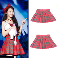 Free Shipping New 2016 Women Skirts HOT SALE Preppy Style Japanese School Uniform Plaid High Waist Short Pleated Tartan Skirts