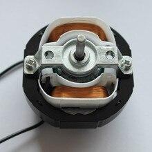 YJ58-12 CW по часовой стрелке 2 полюса 4 мм вал диаметром 2600 об/мин затененный полюс двигатель AC220V 12-14 Вт вокруг вентилятора теплый вентилятор