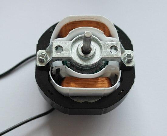 YJ58-12 CW Clockwise 2 Poles 4mm Shaft Dia 2600RPM Shaded Pole Motor AC220V 12-14W Around Ventilator Warm Fan