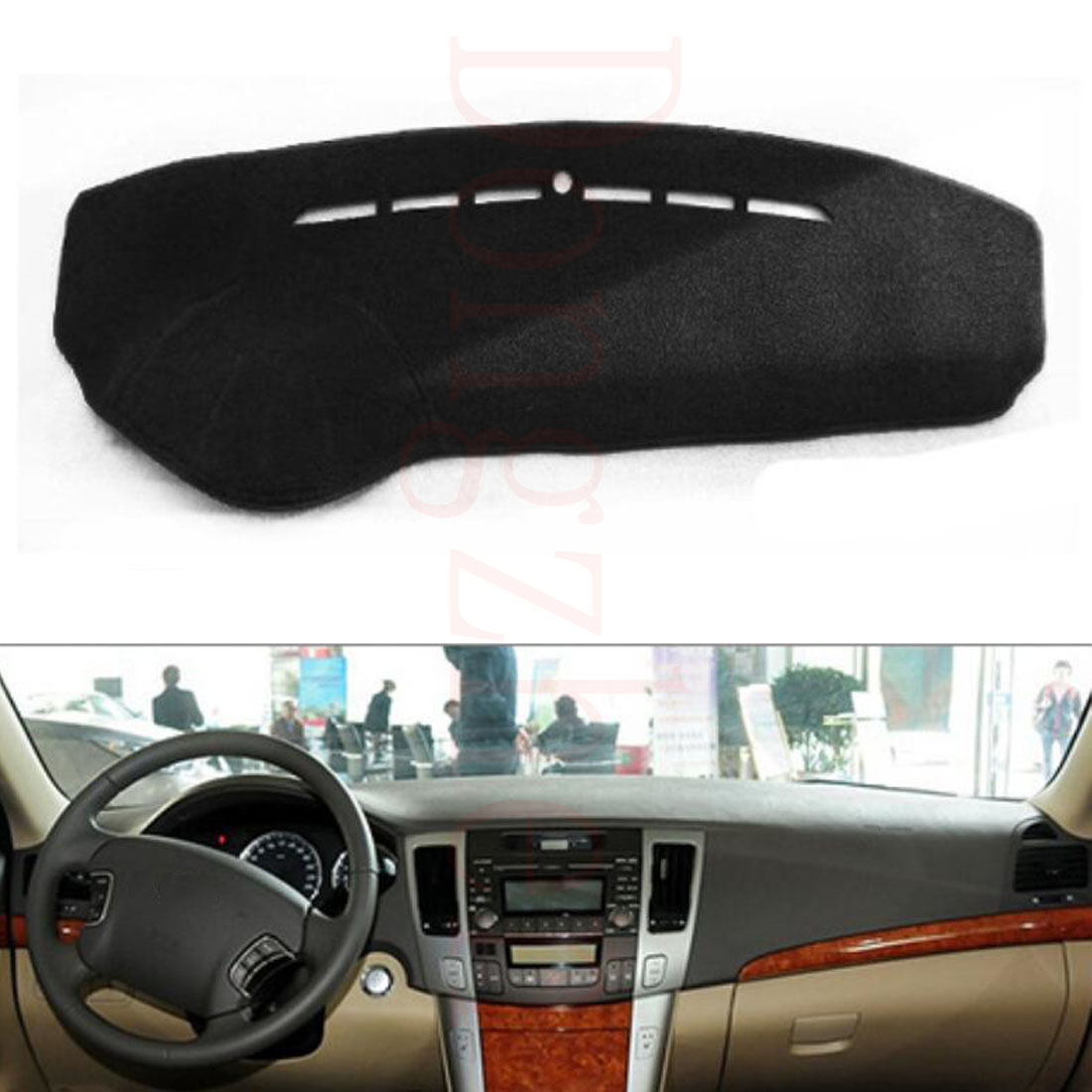 New Hyundai Sonata >> Dongzhen Fit For HYUNDAI SONATA NF 2009 Car Dashboard Cover Avoid Light Pad Instrument Platform ...