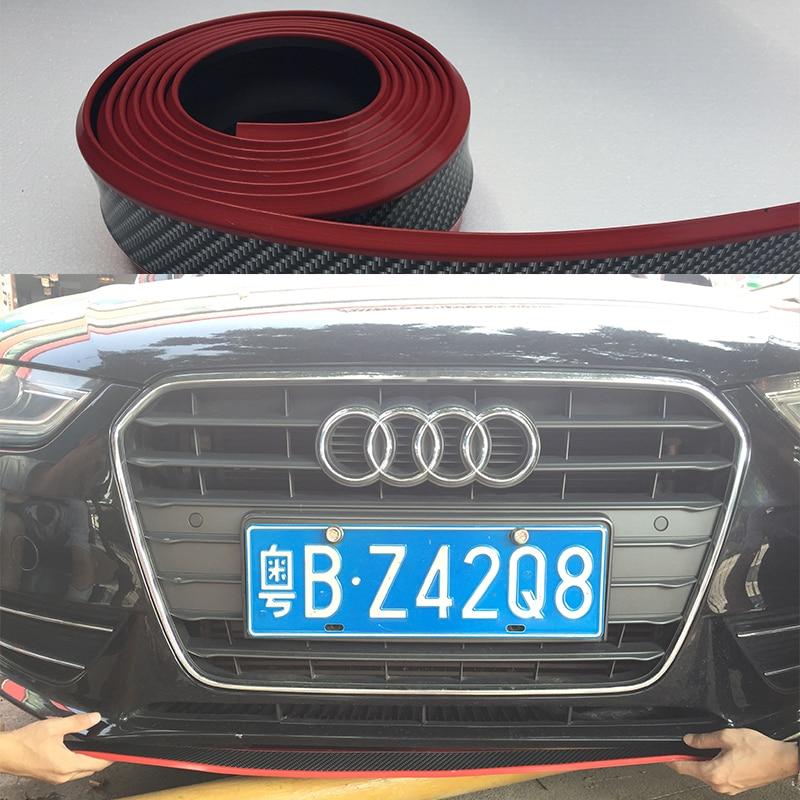 Front Bumper Lip Splitter Chin Spoiler Body Kit Trim For Audi A4 B6 B7 B8 A5 A6 A7 A3 Q5 Q7