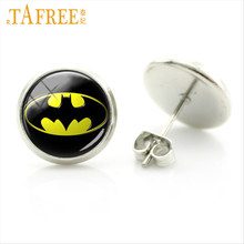 TAFREE Exquisite glass gem women stud earrings handmade fashion Design Earrings for friend birthdy gift Jewelry ES66(China)