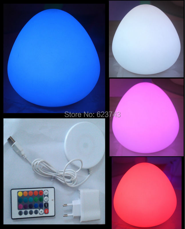Free Shipping Wireless charging multi-color Peach LED night light waterproof,rechargeable LED Peach table lamp nightlight toys led remote control colorful eggs rechargeable bar table lamp ktv night club light dimming color led night light free shipping