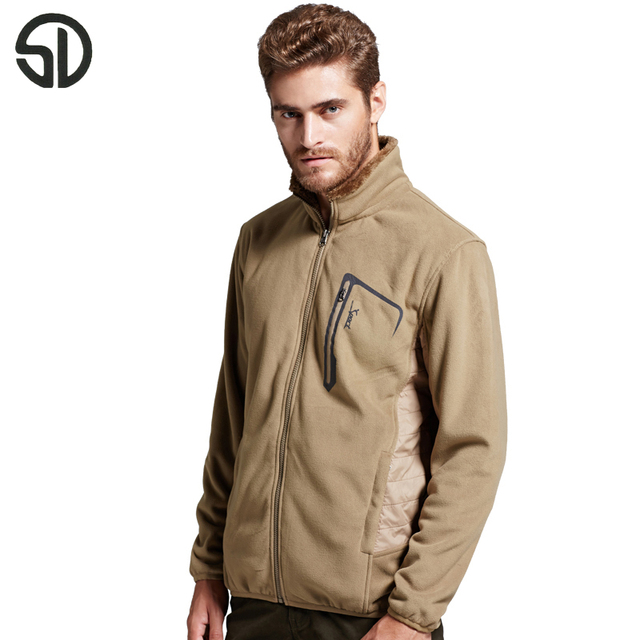 Men Women Fleece Thermal Jacket Tactical Clothes Military Coat Softshell  Jacket Tactical Fleece Jackets 98667fc425
