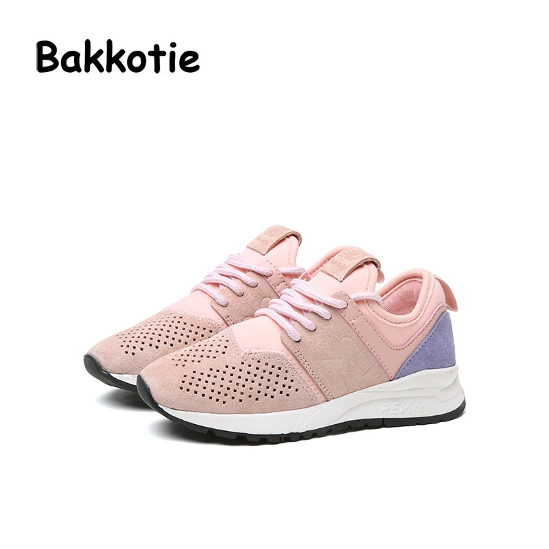 Bakkotie 2017 Fashion Child Spring Baby Boy Casual Sport Shoe Leisure Sneaker kid Brand Hollow Girl