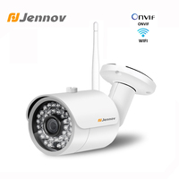 Jennov 1080P 2.0MP ONVIF P2P Video Surveillance Kit Outdoor IP Camera Wireless Security Cameras For Home CCTV WiFi Baby Monitor