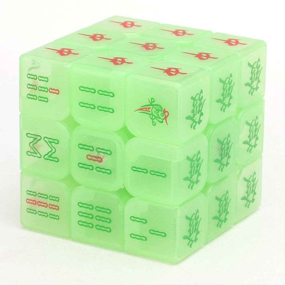 Zcube Aydınlık Mahjong 3x3x3 Sihirli Küp Hız Bulmaca Oyun - Oyunlar ve Bulmacalar - Fotoğraf 2