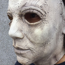 2018 Hot Movie Halloween Horror Michael Myers Mask Cosplay Adult Latex Full Face Helmet Halloween Party Scary Props toy