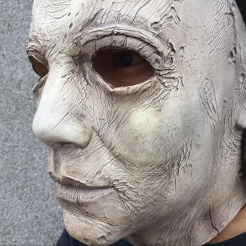 2018 Hot di Film di Halloween Horror Michael Myers Maschera Cosplay Per Gli Adulti In Lattice Pieno Viso Casco Del Partito di Halloween Spaventoso Puntelli giocattolo