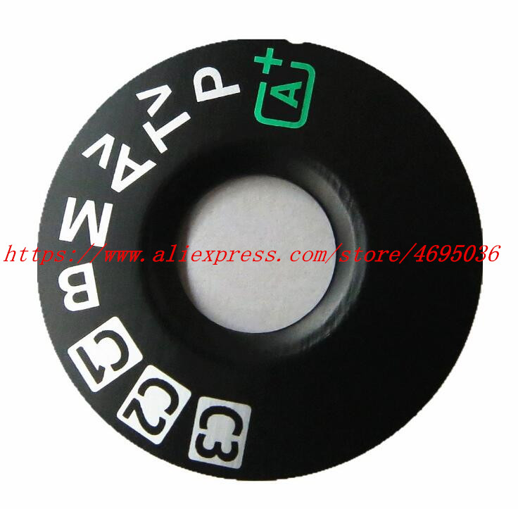 NEW Top cover button mode dial For Canon 6D 5D3 5D mark III Camera Repair parts image