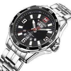 2017 New Naviforce Watches Men Luxury Brand Men Sport Watches Waterproof Stainless Steel Quartz Man Watch Mens Relogio Masculino