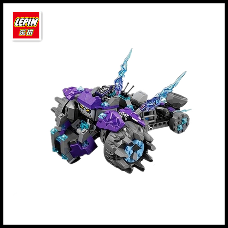 In Stock Lepin 14028 291pcs Nexus Knights Building Blocks set The Three Brothers Kids gift bricks