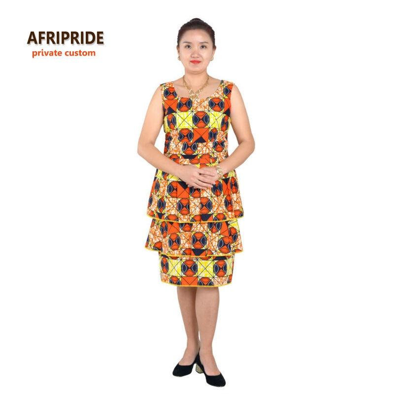 Nouveau robes africaines pour les femmes style de gâteau femmes - Vêtements nationaux - Photo 2