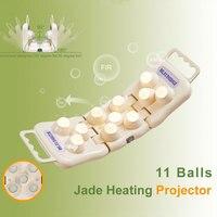 POP RELAX PR-11 palle reale jade roller massager proiettore LED photon luce infrarossa ginocchio dolore dispositivo di terapia del corpo riscaldatore
