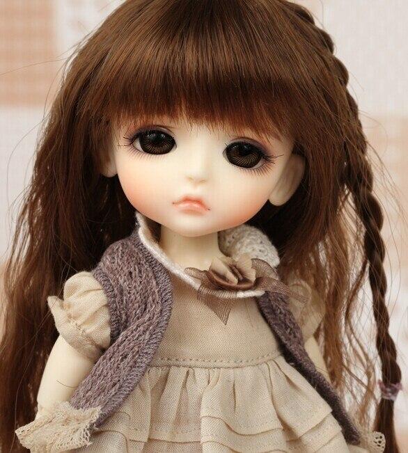 цена на OUENEIFS Lati yellow lea 1/8 bjd resin body model baby girls boys dolls eyes High Quality toys shop