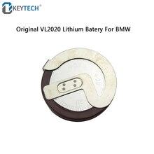 OkeyTech 1 pz/lotto Originale ML2020 2020 90 Gradi Spilli Sostituire VL2020 Batteria Ricaricabile Per BMW Auto Chiave A Distanza