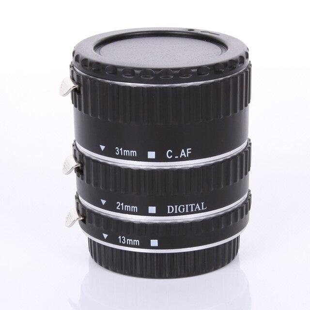 Серебро Металл Автофокус Макро Автоматическая Удлинитель для Kenko Canon EF-S Объектив