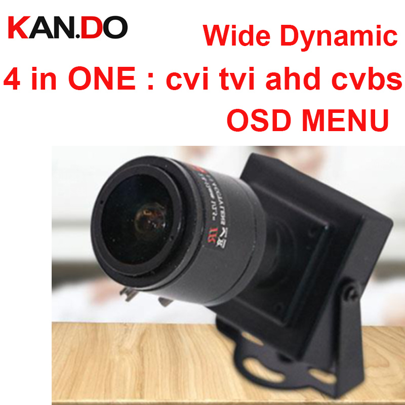 wide dynamic 720P 4 in one AHD CVI TVI CVBS camera mini ahd camera OSD menu cvi camera tvi cctv monitor auto background lighting ahd cvi tvi cvbs 4 in 1 1 3 6 cmos module 720p 1 0mp with osd function v20e ov9732