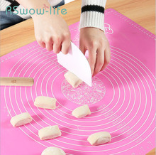 Baking Mat High Temperature Insulation Pad Kitchen Medium Silicone Pad Baking Pan Dough Pad For Baking Tools