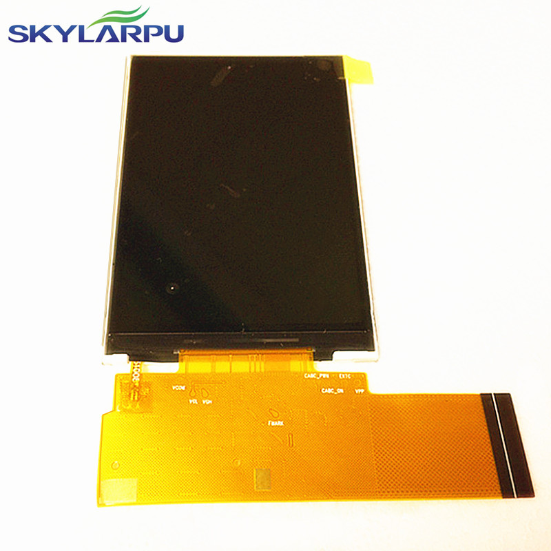 skylarpu 3.5 inch LCD screen TFT3P5407-E for TFT7K0398FPC-A1-E XA-E GPS display screen panel Repair replacement (without touch) 7 inch gps lcd screen e navigation luhang x10 x9 display screen portable navigator in screen