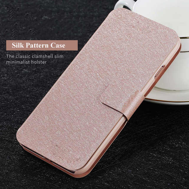 High Quality For coque Doogee Y8 case 6.1 inch Pu Leather Back skin pouch for Doogee Y8 4G Smartphone cover Funda phone bag case