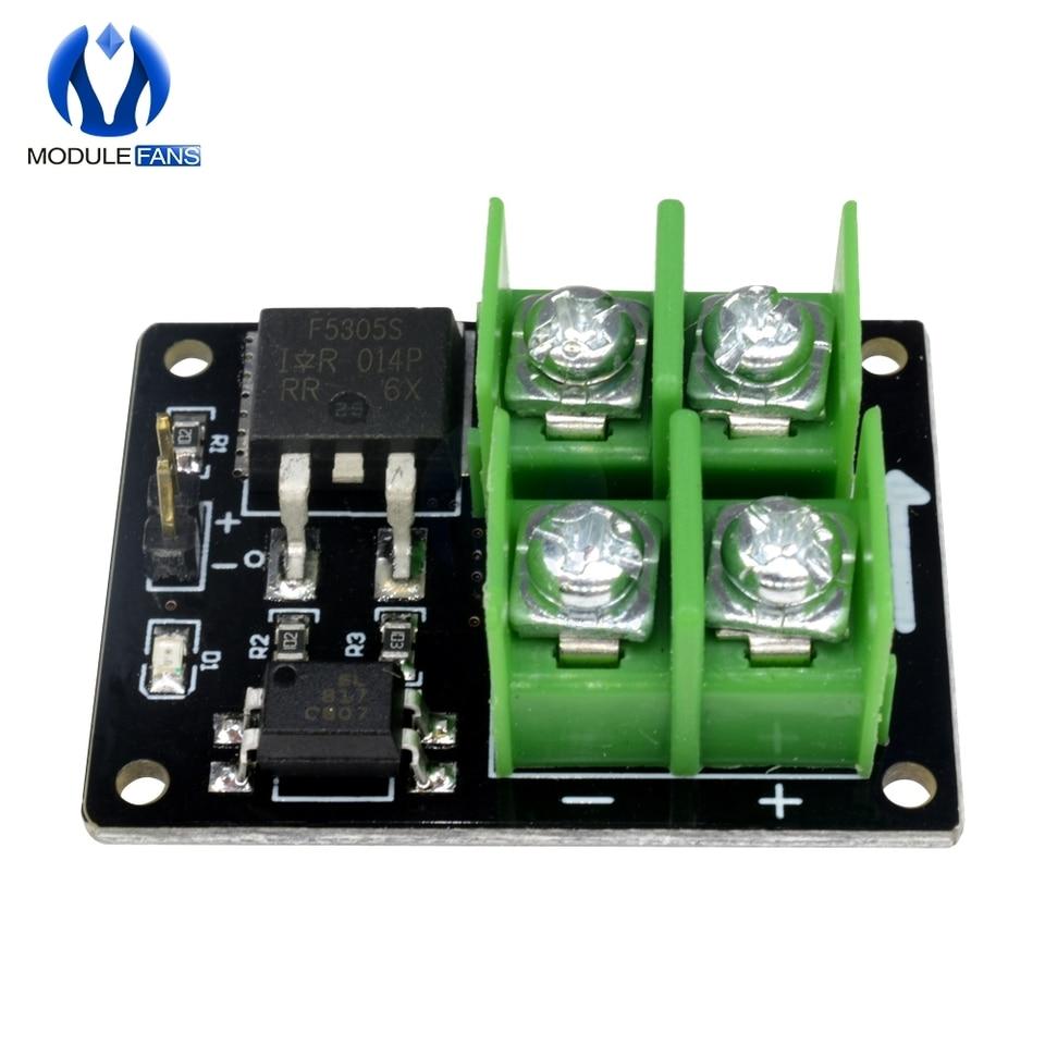 Fafeicy 12V 24V 36V Low Voltage MOSFET Switch Module 3V 5V Low Control High Voltage Field Effect Transistor Module