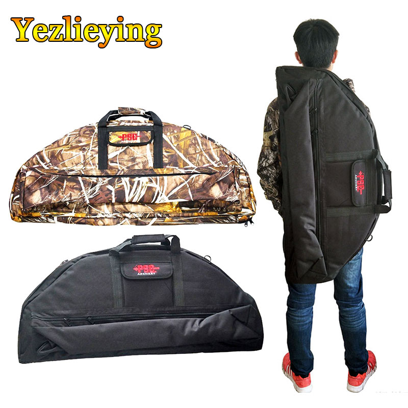 Hunting Archery Compound Bow Bags Case Equipment Compound Bow Portable Handle Bag Canvas Bow Backpack Holder