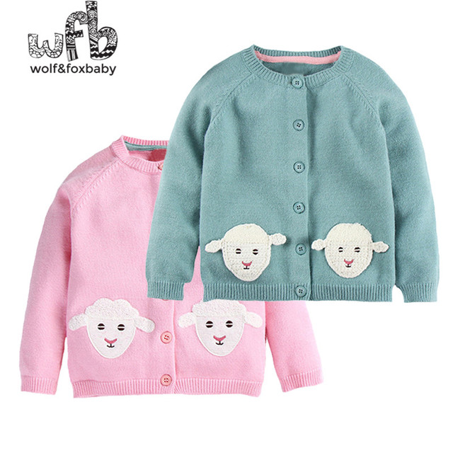 ef48ea15ed42 Retail 3 10 years knitted sweaters embroidery sheep baby kids ...