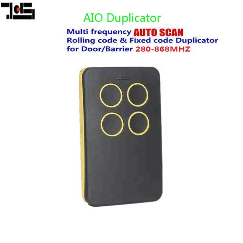 1pcs Garage door remote for RCB02 04 Mitto 2 -4 AUTO duplicator remote control 280-868mhz