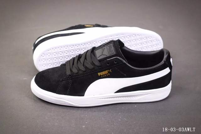 US $55.89  PUMA Suede Classic Men's Sneakers Classic Basket Suede Tone Simple Badminton Shoes Size40 44 in Badminton Shoes from Sports & Entertainment