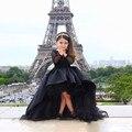 Sirena Muchachas de Flor se Viste Para Los Vestidos de Boda Negro de Cumpleaños de la Muchacha Cabritos del Vestido de Partido Vestidos de Baile