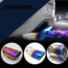 Vehemo модификация автомобиля гриль хвост выхлопной трубы глушитель из нержавеющей стали