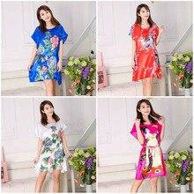 HOOYI 2018 pijama women nightwear night summer dress nightgown girls sleepwear lingerie casual robe home nuisette
