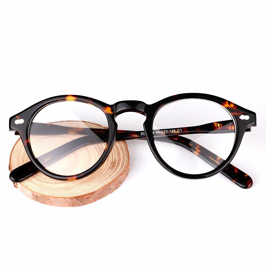 CHASHMA Brand Designer Eyeglasses frames Men Acetate Glasses Women 39 s Masculino Oculos de Grau Feminino Gafas de Grau Retro in Men 39 s Eyewear Frames from Apparel Accessories